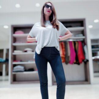 Calza Simil Jean Modelina
