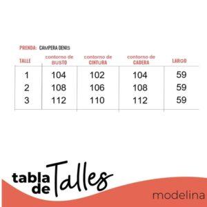 Campera Denis Talles