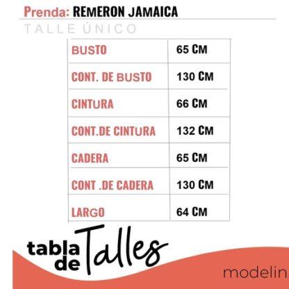 Remera Jamaica Talles